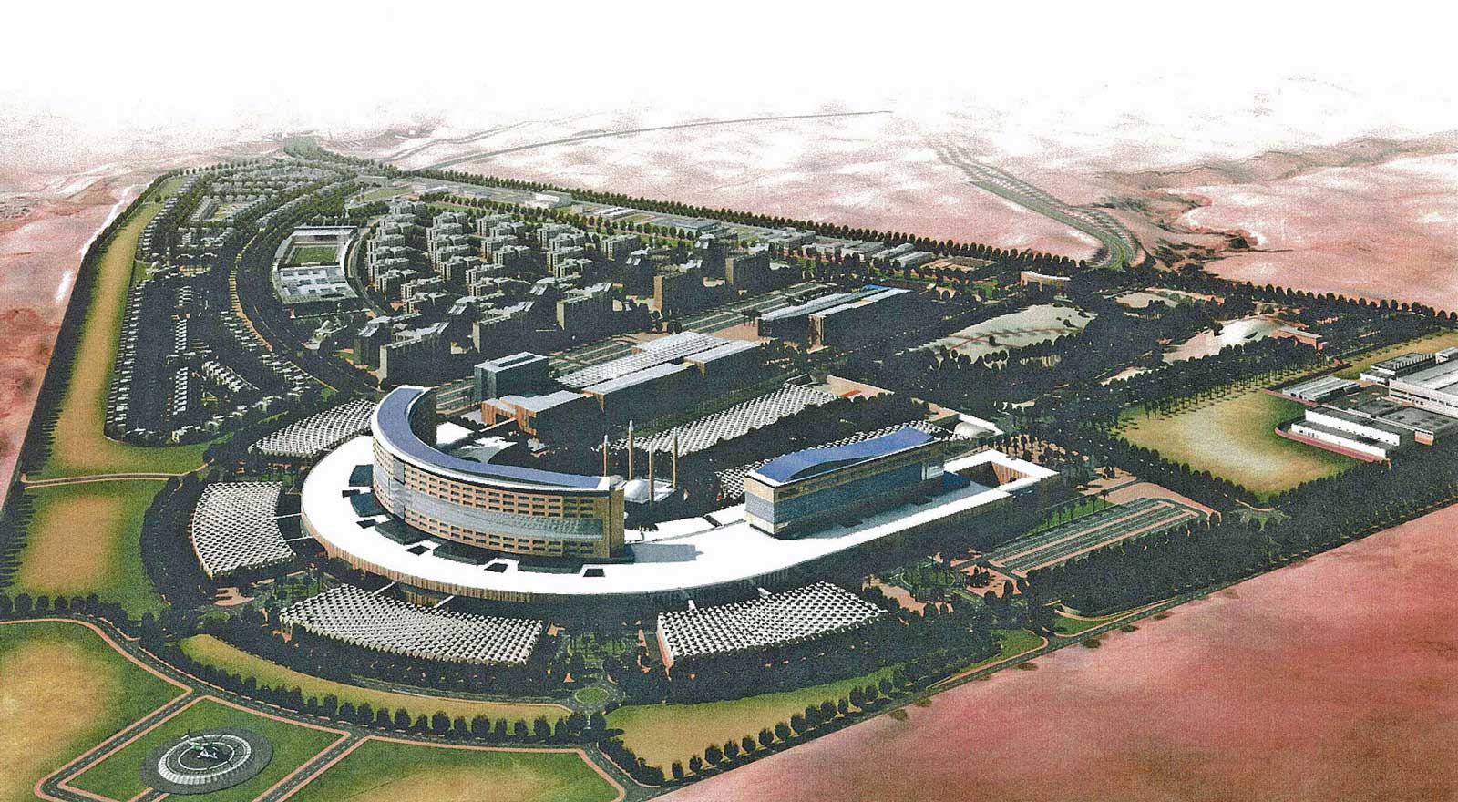Security Forces Medical Center Project at Riyadh and Jeddah